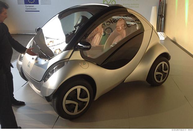 MIT Hiriko Folding Car