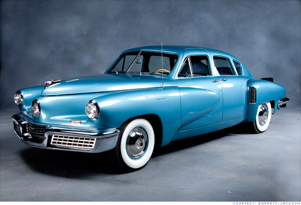 Million Dollar Cars From Scottsdale Auctions 1948 Tucker