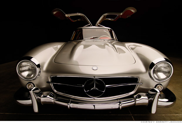 Million dollar cars from scottsdale auctions 1954 for 1954 mercedes benz 300sl
