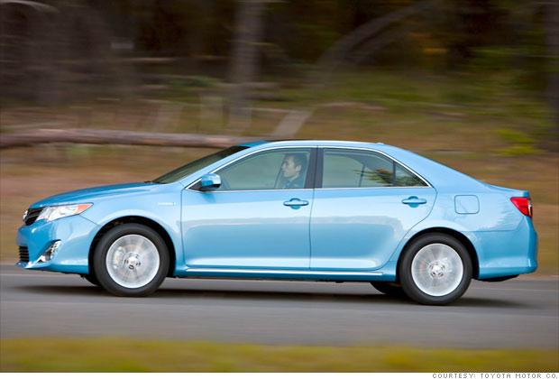 Family car: Toyota Camry Hybrid