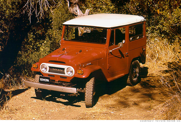You Won T Believe These Are Collectible Cars 1973 Toyota Land Cruiser 6 Cnnmoney