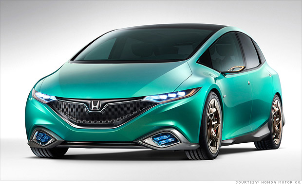 Cool Cars From The Beijing Auto Show Honda Concept S CNNMoney - Auto car honda