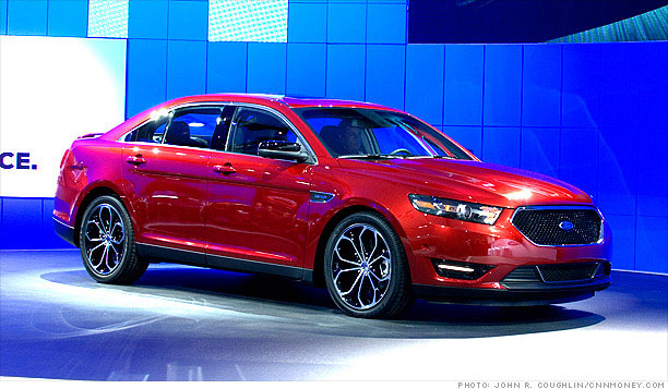 5 big cars bringing luxury to the masses ford taurus 4 cnnmoney. Black Bedroom Furniture Sets. Home Design Ideas