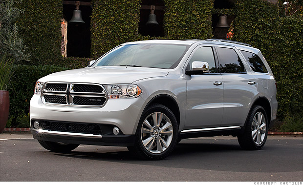 6 beautiful spring car deals - Dodge Durango (3) - CNNMoney