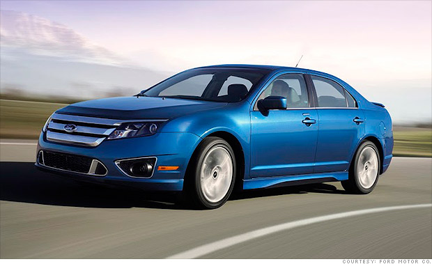 10 best spring auto lease deals ford fusion 3 cnnmoney. Black Bedroom Furniture Sets. Home Design Ideas