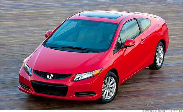 10 best spring auto lease deals honda civic lx 9 for Honda civic lease offers