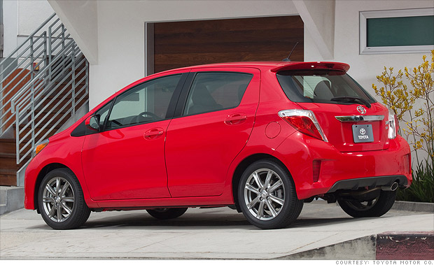 j d power top quality cars sub compact car toyota yaris 12 cnnmoney. Black Bedroom Furniture Sets. Home Design Ideas