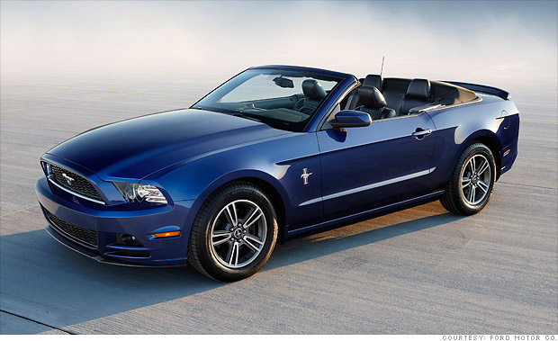 Mid-sized sporty car: Ford Mustang