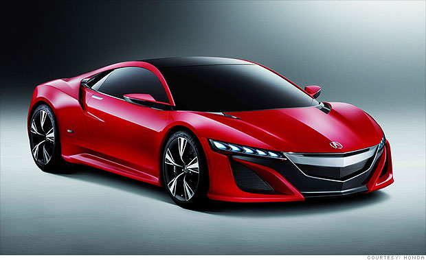 supercars from household names acura nsx 6 cnnmoney. Black Bedroom Furniture Sets. Home Design Ideas