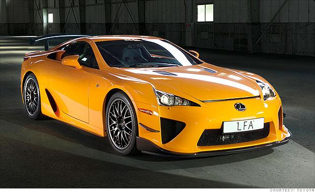 Supercars From Household Names Lexus Lfa Cnnmoney