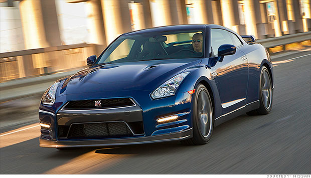 Supercars From Household Names Nissan Gt R Cnnmoney