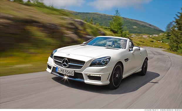 Compact premium sporty - Mercedes SLK