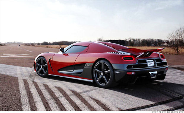Ultra Rare Supercars From Around The World Koenigsegg Agera R