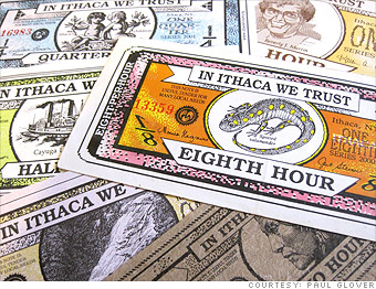 10 >> Funny money? 11 local currencies - Ithaca Hours (3) - CNNMoney