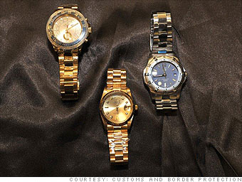 Counterfeit Watches, CNN Money