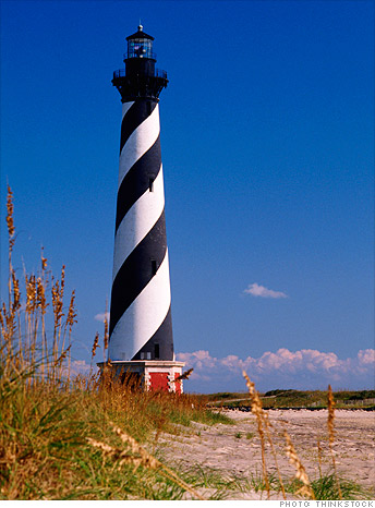 Outer Banks, N.C. instead of Kauai, Hawaii