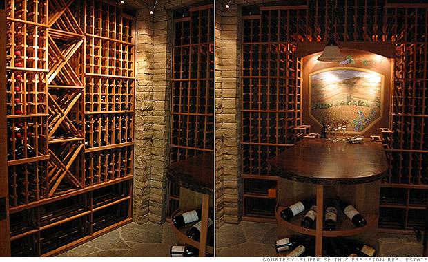 Please buy our 2 million dream home wine cellar 7 cnnmoney - Home wine cellar ...