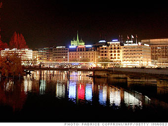 5. Geneva, Switzerland