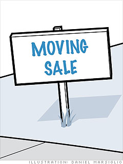 Focus on moving sales or older homes 