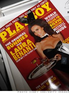 A Playboy subscription