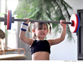 Pint-sized weightlifters