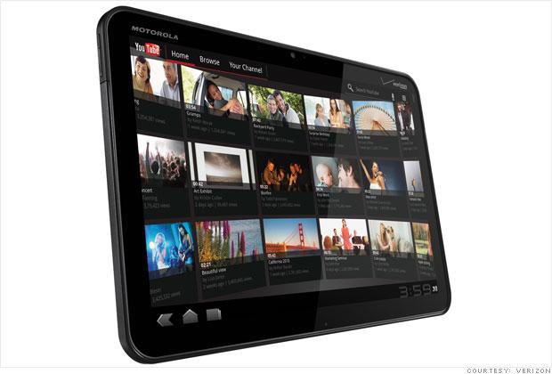 Motorola Xoom's 4G upgrade