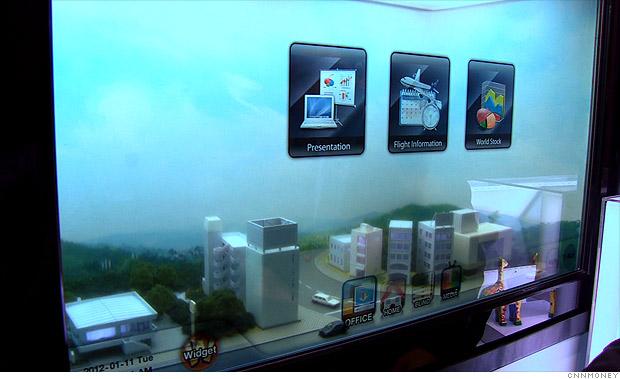 Samsung's Transparent LCD