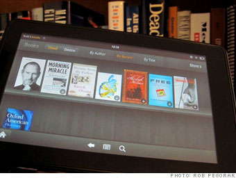 E-books and other media