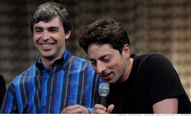 Sergey Brin & Larry Page's fighter jet