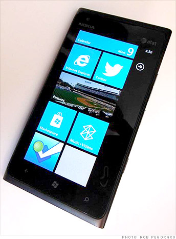Windows Phone 7, not 8