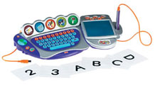 Hot toys for 2008: Keyboard for toddlers, Wallcrawler Spiderman