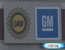 GM's labor pains