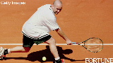 Agassi: 'Get yourself tired'