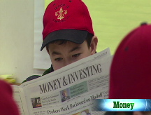 Boy Scouts get money skills