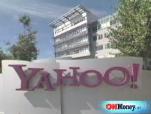 Yahoo tops estimates