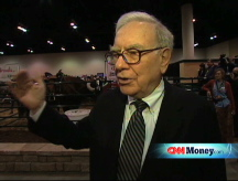 Buffett talks oil