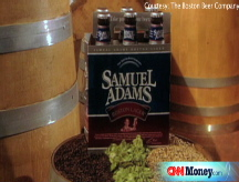 Sam Adams shares the wealth