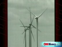 Texas oil man  bets on wind