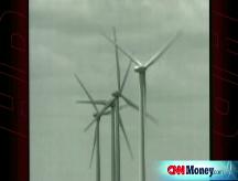 Texas oil man  bets on wind