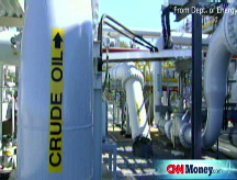 Oil inventory on tap