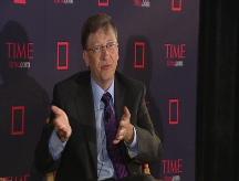 Gates redefines capitalism
