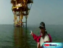 Oil rig evacuations under way