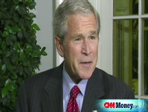 Bush: We need to move quickly