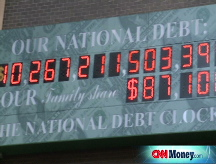 U.S. debt soars