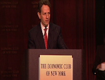 Possible Treasury pick: Geithner