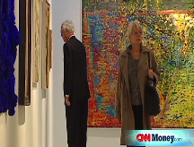 Picture this: Art prices fall