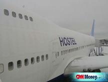 Jumbo jet hostel