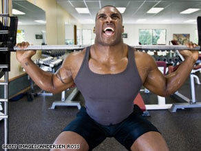 Really loud grunting and groaning can be disturbing to other people at the gym.