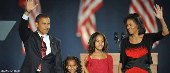 Obama to be first African-American president
