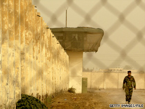 Abu Ghraib prison was taken over by the Iraqi government after claims of abuse by U.S. troops.